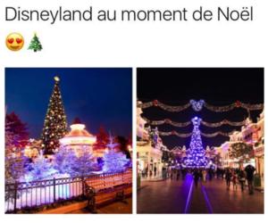 disney, noël, and disneyland noel image