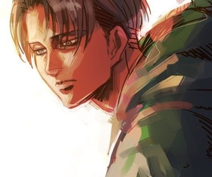 anime, levi, and art image