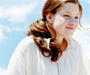 narnia, georgie henley, and lucy pevensie image