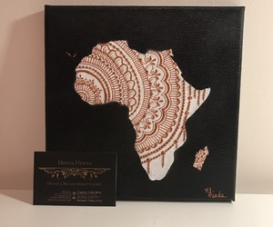 africa, art, and henna image