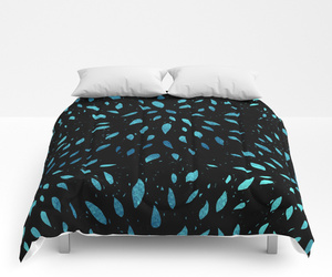 bed, bedroom, and comforter image