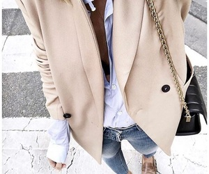 beige, classic, and jeans image