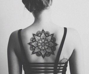 flower and tatoo image