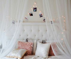 bedroom and girly image