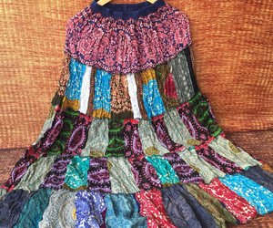 dresses, gypsy skirt, and etsy image