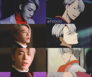anime, donghae, and SJ image