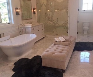 bathroom, interior, and house image