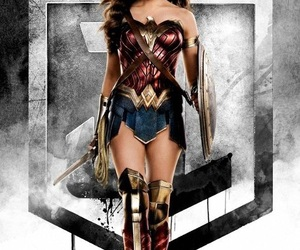 wonder woman, justice league, and dc comics image