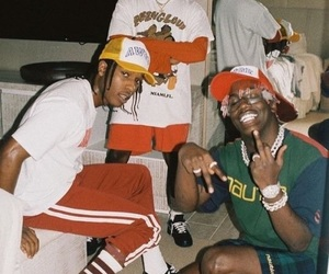 asap rocky and lil yachty image