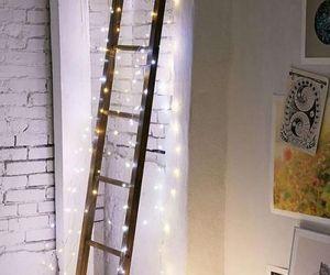 light, ladder, and room image