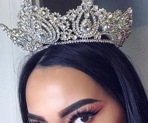 makeup, Queen, and crown image