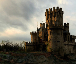 castle, medieval, and northern spain image