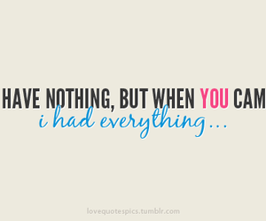 quote, love, and everything image