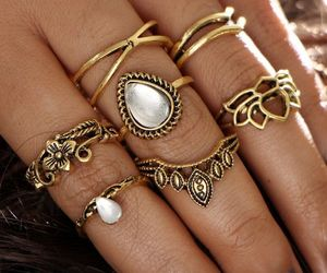 jewellery, jewelry, and rings image