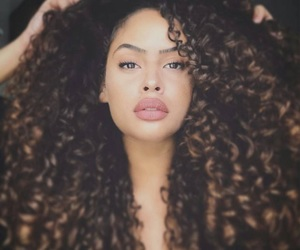 Afro, beautiful, and curls image