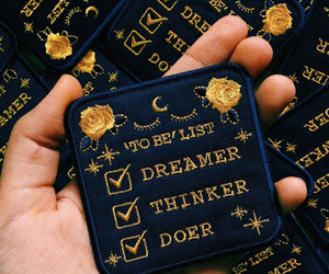 dreamer, quotes, and rose image