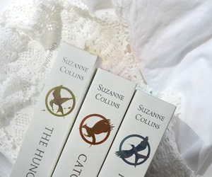 book, collins, and hunger games image