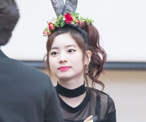 adorable, fansign, and dahyun image
