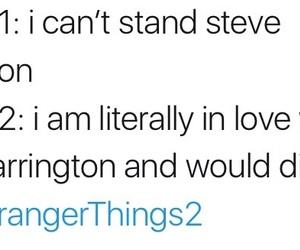 steve harrington, stranger things, and stranger things 2 image