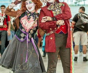 alice in wonderland and cosplay image