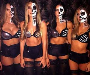 amigas, calaveras, and NYX image