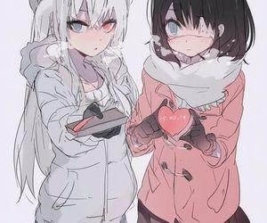 anime, fanart, and anime girls image