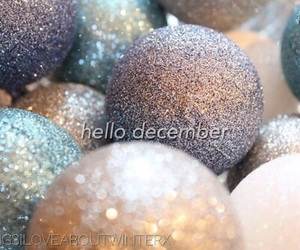 christmas, glitter, and sparkle image