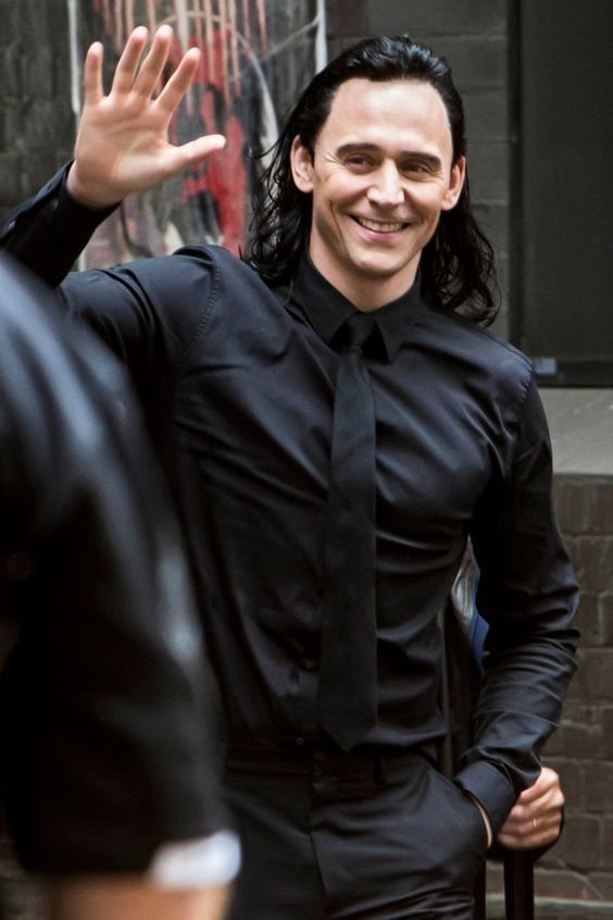 Loki In Black Suit I Live For Loki In A Black Suit