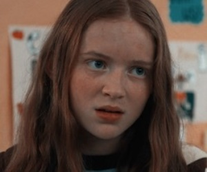 sadie sink, girl, and icon image