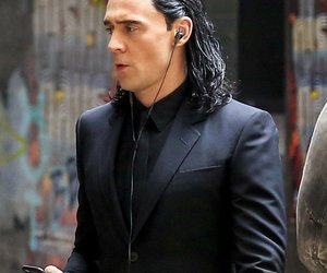 loki, tom hiddleston, and sweet image
