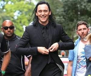 tom hiddleston, loki, and thor ragnarok image