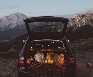 travel, aesthetic, and car image