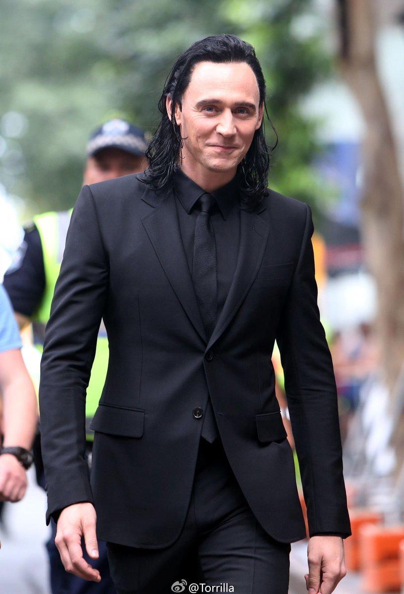 Loki In Black Suit Uploaded By 𝖋𝖊𝖗 On We Heart It