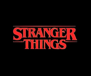 stranger things, wallpaper, and black image