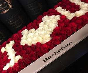 flowers, white, and i love u image