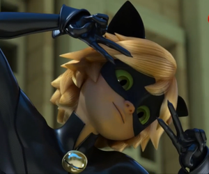 Chat Noir, miraculous ladybug, and miraculous image