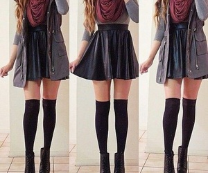 fall, cute, and outfit image