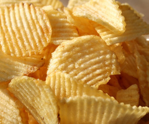 food, potato, and chips image