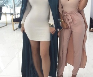 dresses, pink, and outfits image