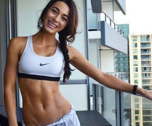 fitness, fit, and nike image