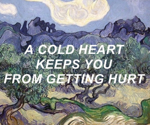 quotes, cold, and heart image