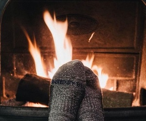 socks, winter, and aesthetic image