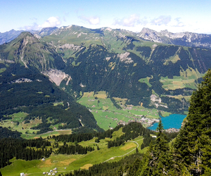 mountains, long walk, and switserland image