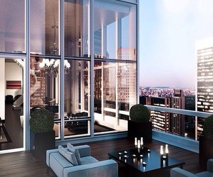 appartment, balcony, and city image