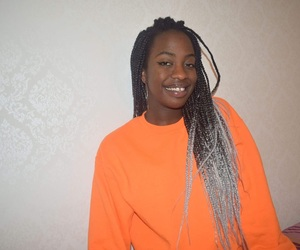 braids, hair, and blackgirlmagic image