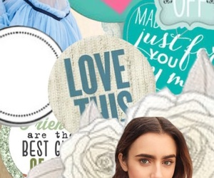 background, wallpaper, and lily collins image