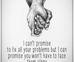 alone, problems, and together image