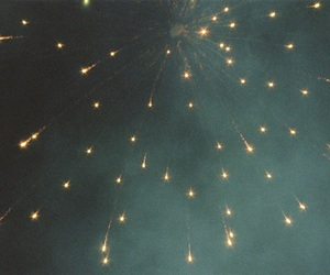 fireworks, sky, and light image