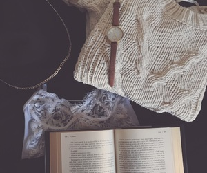 autumn, reading, and books image