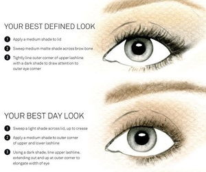 eye makeup, makeup, and makeup tips image